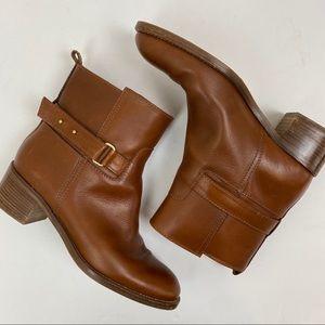 J. Crew Parker Vachetta Leather Ankle Boot